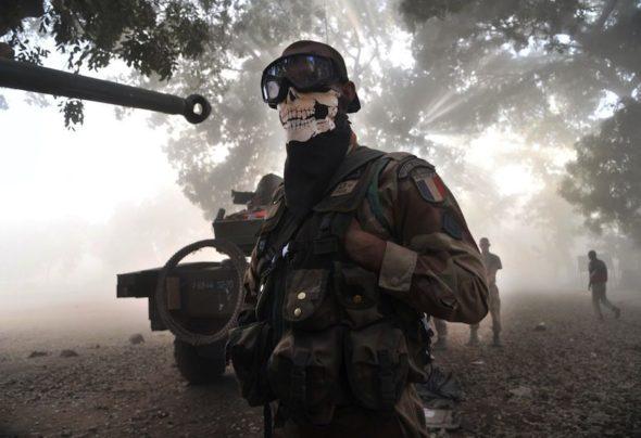 В зоне военных действий с убийцами